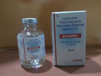 Lignocaine Hydrochloride & Adernaline Bitartrate Injection I.P 2% adrenaline