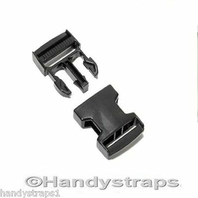 Side Release Buckles Clip 1 x 50mm for webbing Plastic Quick Release Buckles