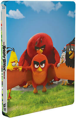 The Angry Birds Movie - Limited Edition Steelbook BLU-RAY! All Region! BRAND NEW