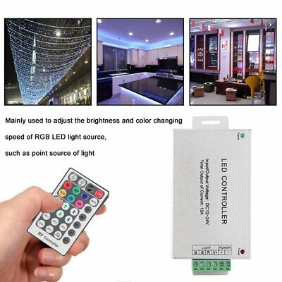 RF RGB Wireless 28 Key Remote Controller For LED String Light Dimmer 12-24V AZ