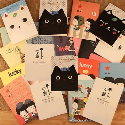 Cute Cartoon Journal Diary Memo Note Book Notepad Blank Page Stationery School