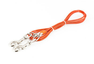 Ancol Tie Out Cable Lead, 2.3 m x 4.5 mm, Orange