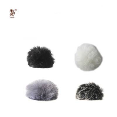 Fur Mic Windscreen Windshield Wind Muff for Lapel Microphone small medium large