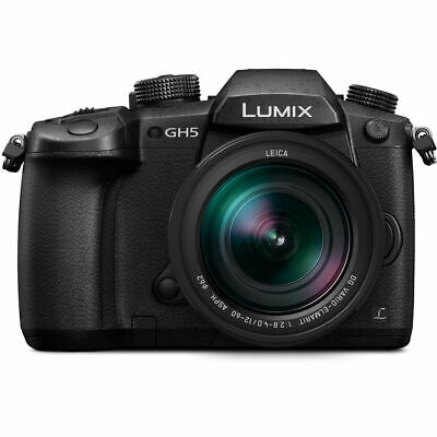 Panasonic Lumix DC-GH5 Mirrorless Micro 4/3 Digital Camera with G Vario 12-60mm