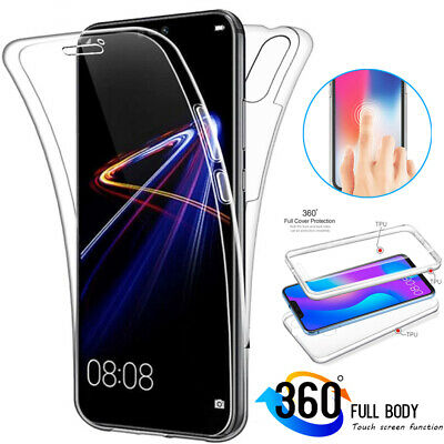 Slim Shockproof TPU 360° Full Cover Case for Huawei P Smart 2019/Mate20 P20 Lite