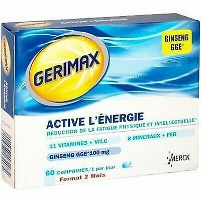 GERIMAX Active l'Energy 60 tablets