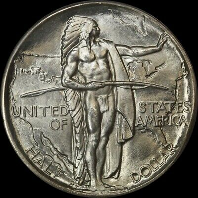 United States 1937 Silver Half Dollar Oregon Commemorative PCGS MS65 Green CAC