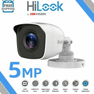 1Hikvsion  HiWatch THC-B120 HD 2mp 1080p TVI AHD EXIR Outdoor Bullet Camera IP66