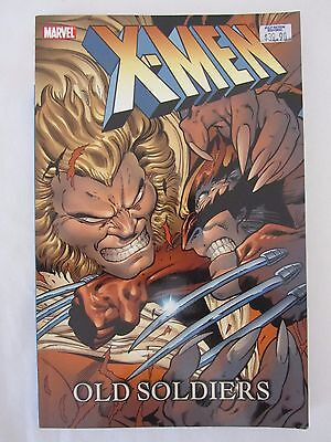 Marvel Comics X-MEN - OLD SOLDIERS Graphic Novel