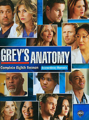GREY'S ANATOMY SEASON 8: BRAND NEW (LARGE CASE) Please Read Description