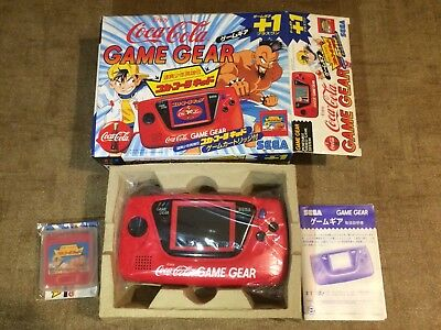 NEW Console Sega Game Gear Coca Cola Limited full work NEUF
