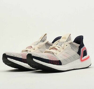 W ADIDAS ULTRABOOST 19 Brown Beige Pink F35284 Womens Ultra Boost Running Shoes