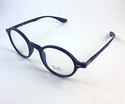 033f1d7e05 NEW RAY BAN Rb7036 5439 Lightforce Matte Blue Authentic Eyeglasses ...