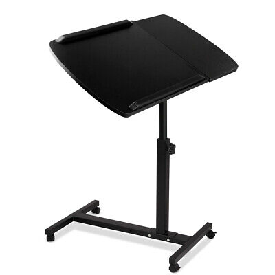 Mobile Laptop Desk Adjustable Notebook Computer iPad Stand Table Tray Bed @SAV