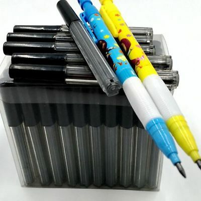 5Box 8 PCs 2.0mm Black Lead Refills Tube With Case for Mechanical Pencils