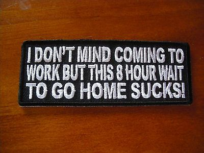 Embroidered cloth patch A020307 My Mind Does/'nt just Wander