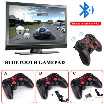 Wireless Game Controller Remote Bluetooth Gamepad For Android IOS Phone PC UK