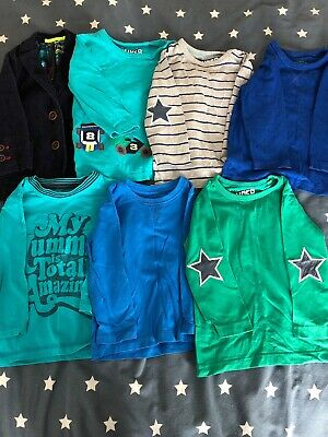toddler boys tops clothes bundle 12-18 months
