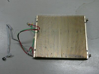 Thales/Comark UHF RF Linear Amplifier,100 Watts, Class A,Radio Frequency, 28 VDC