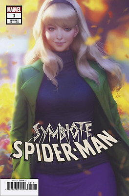 SYMBIOTE SPIDER-MAN #1 Comic 2019 NM VARIANT Artgerm Cover pre-sale 4/10/2019