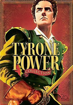 TYRONE POWER COLLECTION * 5 DVD Films * Prince of Foxes, Blood & Sand + more!
