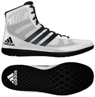 quality design d3135 0d60a Adidas Mat Wizard wrestling shoe - David Taylor - white   black
