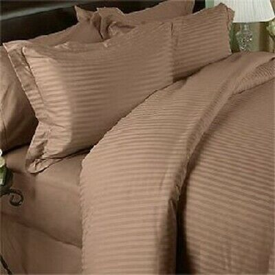 1000TC Red Striped RV Camper /& Bunk Sheet Set All Sizes Egyptian Cotton