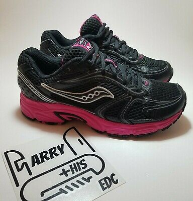 016891a2053a SAUCONY GRID OASIS Women's Running Shoes 7.5 15096-3 Black Pink ...