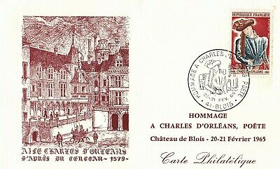 Carte Maximum - France - Hommage A Charles D'orleans - Blois - 1965