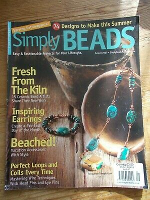 Simply Beads Magazine August 2007 Beading Jewellery Making