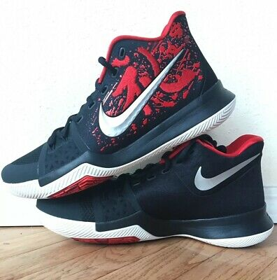 differently edef2 470a3 NEW NIKE KYRIE 3 Samurai DS black red 852395-900 Size 10.5