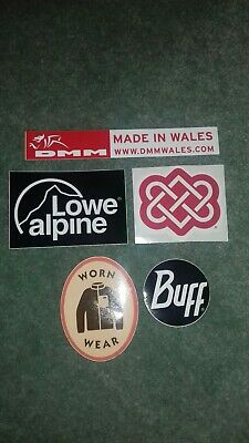 Collectable  Patagonia Dmm Sherpa Buff Lowe Alpine Stickers