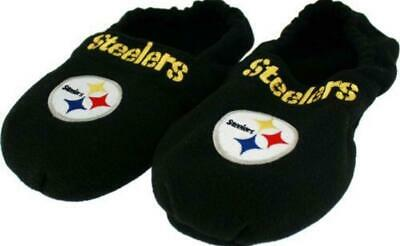 8173922d PITTSBURGH STEELERS NFL Youth Colorblock Slide Slippers Size Large ...