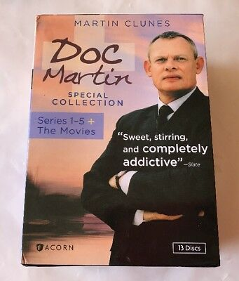 Doc Martin Special Collection: Series 1-5 + The Movies (DVD, 2013, 13-Disc Set)