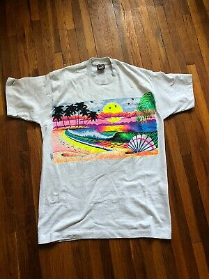 6f4b993f0 Vintage 90s Fruit Of The Loom SAN DIEGO Graphic T-shirt Mens, Large,