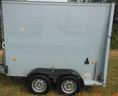 Ifor Williams BV 85 Box Trailer With Combination Ramp Style Doors