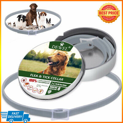 NEW! DEWEL® PRO GUARD FLEA AND TICK COLLAR FOR DOGS CATS PETS High-Quality 2019
