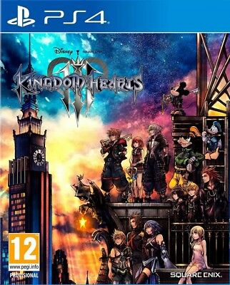Kingdom Hearts III (3) | PS4 | No CD