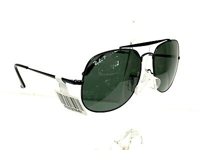 3a50489c68 RAY BAN NEW Sunglasses GENERAL Black Green Classic G-15 RB3561 002 ...