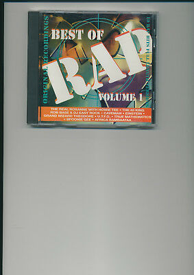 Best of Rap Vol.1, CD,  Zustand sehr gut