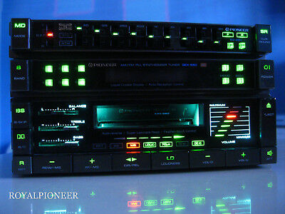 PIONEER Rare KPX-660 Lettore Deck Series Centrate, Kex,Gm,Gex,Component,Cdx,Kp