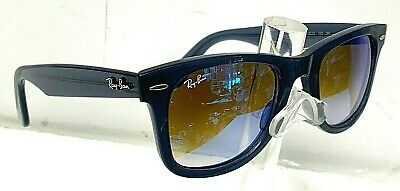 4f4fe001a00 Ray-Ban Wayfarer Ease RB4340 6232 4O 50-22 Blue Gradient Flash Sunglasses