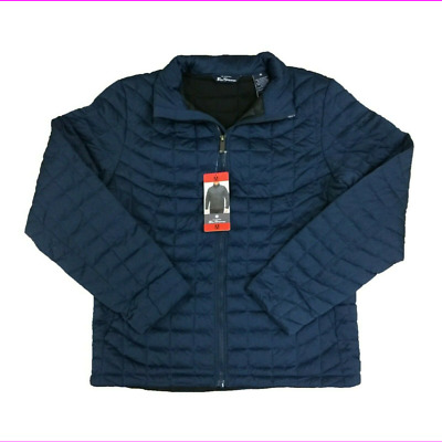 Men's Ben Sherman Quilted Lightweight Down Jacket  Navy M