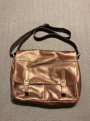 70deadf535 FOSSIL DEFENDER MESSENGER Bag -  18.50