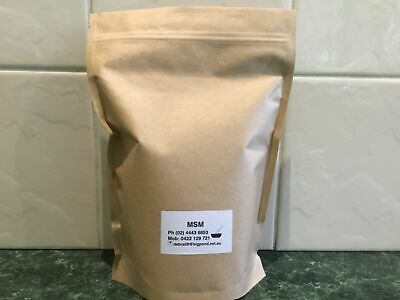 3 Kgs MSM  including bag weight 99.9% excellent for Arthritis