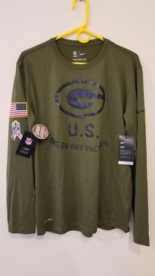 GREEN BAY PACKERS Salute to Service Hoodie 2016 Nike STS XL (Other ... f754a9bd1