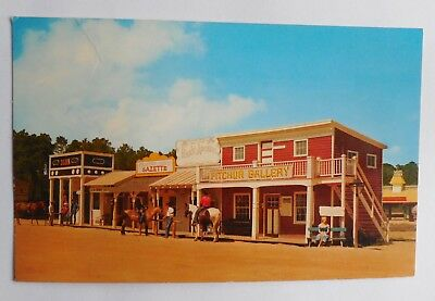 VINTAGE POSTCARD OCEAN City, Maryland ~ Frontier Town Western Theme Park