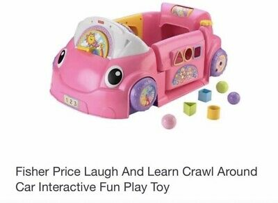Laugh & Learn Crawl Around Car - Pink