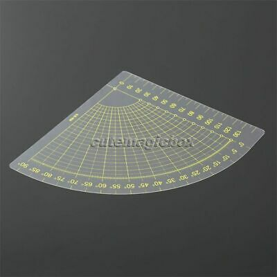 Home Drawing Sewing Tool 18x16cm Quilting Ruler Quilters Craft Patchwork Ruler