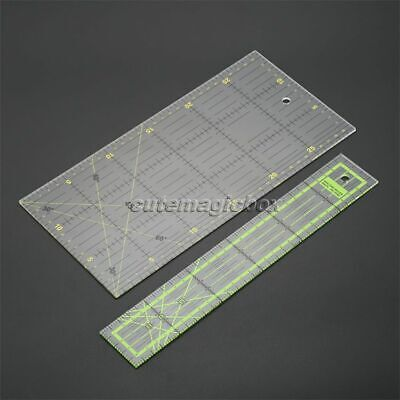 Tailor Craft Scale Tool Household Quilting Sewing Patchwork Ruler Cutting Tool